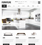 Furniture VirtueMart  Template 39021