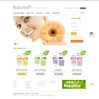 Beauty VirtueMart  Template 39023