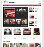 Furniture VirtueMart  Template 39027
