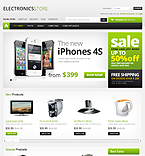 Electronics VirtueMart  Template 39028