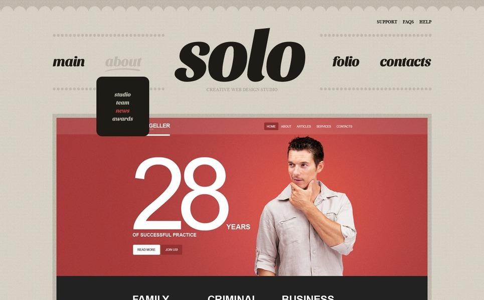 Joomla Vorlage für Web Entwicklung  New Screenshots BIG