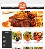 Food & Drink PrestaShop Template 39044