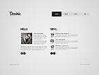 Art & Photography Website  Template 39052