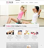 Sport Website  Template 39060