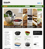 Furniture VirtueMart  Template 39084