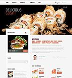 Cafe & Restaurant Drupal  Template 39086