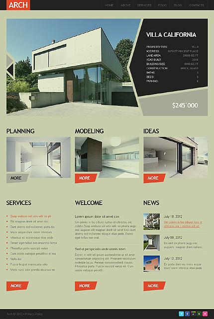 Drupal Template 39089 Main Page Screenshot