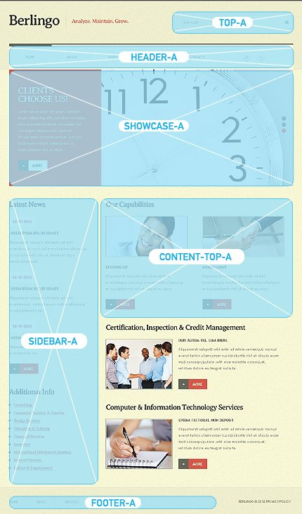Joomla Theme/Template 39091 Main Page Screenshot