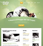 Religious Website  Template 39096