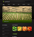 Agriculture Website  Template 39101
