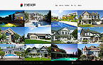 Real Estate Website  Template 39104