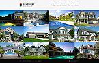 Real Estate Website  Template 39104