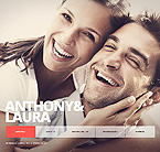 Wedding Website  Template 39108