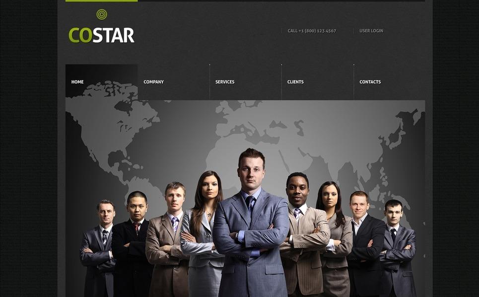 Modello Siti Web  #39122 per Un Sito di Business e Servizi New Screenshots BIG