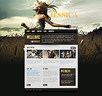Personal Page Website  Template 39125