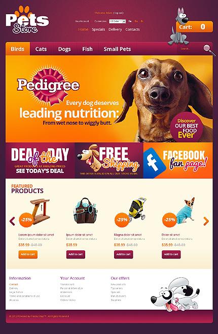 ADOBE Photoshop Template 39148 Home Page Screenshot