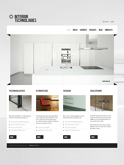 Joomla Theme/Template 39155 Main Page Screenshot