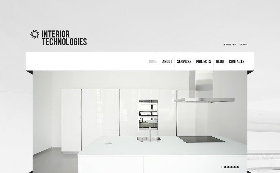 设计与室内网站Joomla模板 New Screenshots BIG