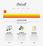 Communications Website  Template 39159