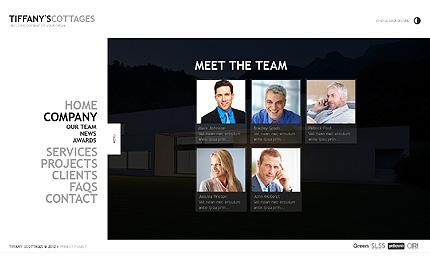 Template 39162 ( Company Page ) ADOBE Photoshop Screenshot