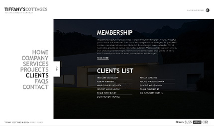 Template 39162 ( Clients Page ) ADOBE Photoshop Screenshot