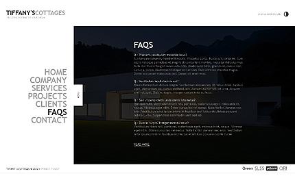 Template 39162 ( FAQs Page ) ADOBE Photoshop Screenshot