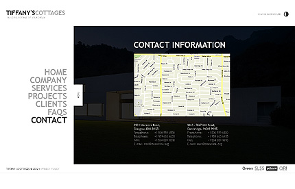 Template 39162 ( Contact Page ) ADOBE Photoshop Screenshot