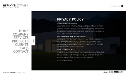 Template 39162 ( Privacy Policy Page ) ADOBE Photoshop Screenshot