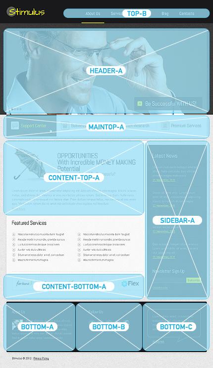 Joomla Theme/Template 39165 Main Page Screenshot