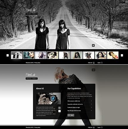 ADOBE Photoshop Template 39175 Home Page Screenshot
