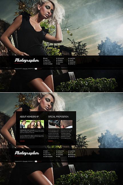 ADOBE Photoshop Template 39176 Home Page Screenshot