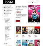 Books ZenCart  Template 39206