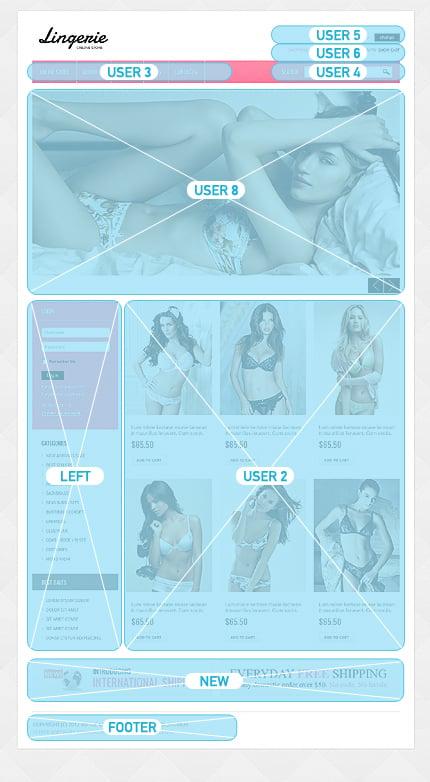 ADOBE Photoshop Template 39211 Home Page Screenshot
