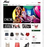 Fashion VirtueMart  Template 39213