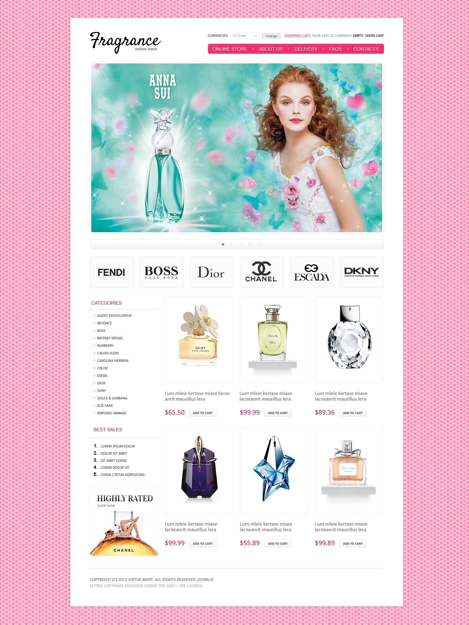 Интернет магазин косметики имидж