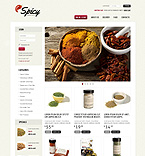 Food & Drink VirtueMart  Template 39215