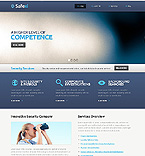 Security Website  Template 39238