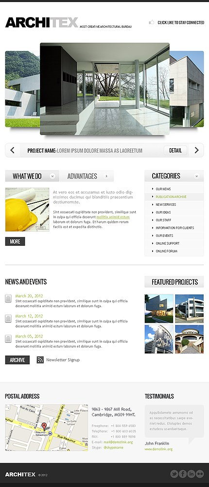 ADOBE Photoshop Template 39239 Home Page Screenshot