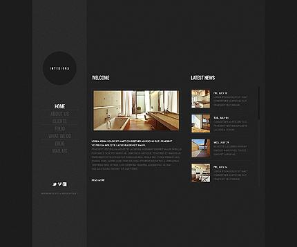 Template 39241 ( Home Page ) ADOBE Photoshop Screenshot