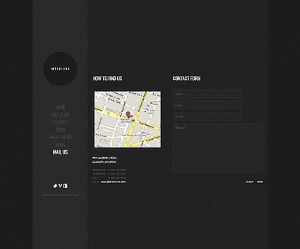 Template 39241 ( Mail us Page ) ADOBE Photoshop Screenshot