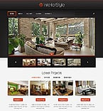Furniture Website  Template 39244