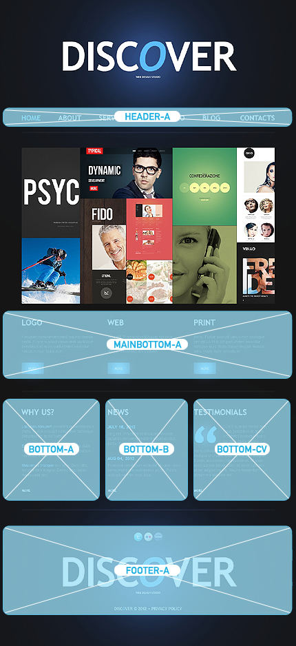 Joomla Theme/Template 39250 Main Page Screenshot