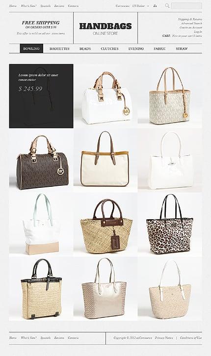 osCommerce Template 39252 Main Page Screenshot