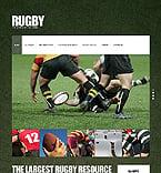 Sport Website  Template 39260