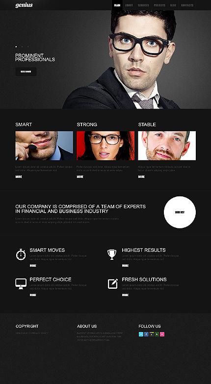 Drupal Template 39272 Main Page Screenshot