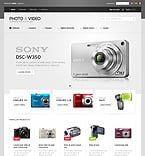 Electronics osCommerce  Template 39285