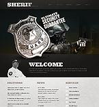 Security Website  Template 39300
