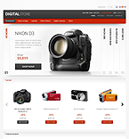 Electronics PrestaShop Template 39306