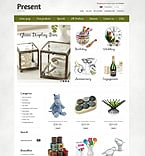 Gifts ZenCart  Template 39309