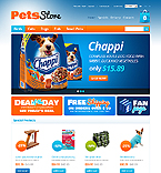 Animals & Pets osCommerce  Template 39314